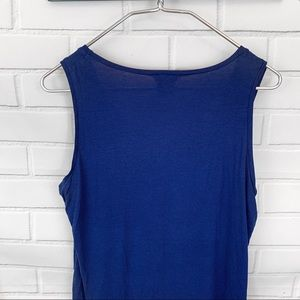 Ann Taylor Tops - Ann Taylor • Navy Jewel Tank Top